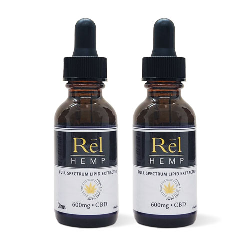 Rel Hemp Full Spectrum Lipid Extracted CBD Tincture
