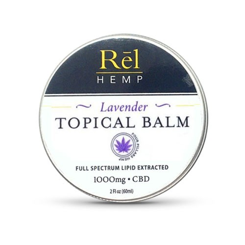 Rel Hemp CBD Topical Balm Lavender