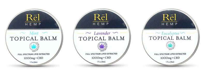 Rel Hemp CBD Topical Balms
