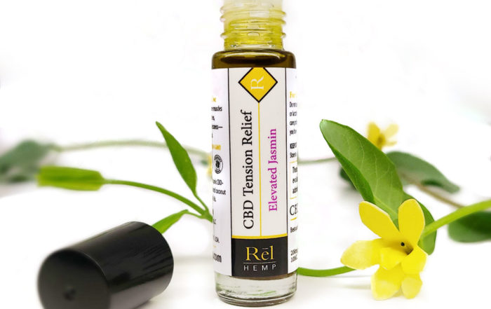 Rel Hemp Tension Relief CBD Roll On Elevated Jasmin
